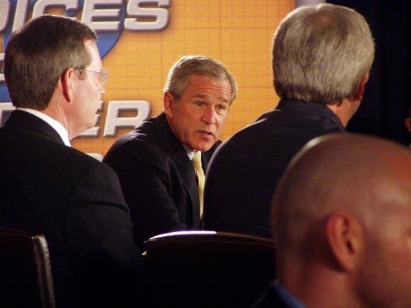 Bush's panel discussion