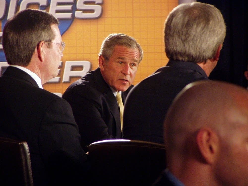 Bush's panel discussion