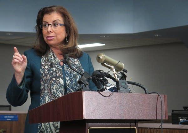 St. Paul schools Superintendent Valeria Silva