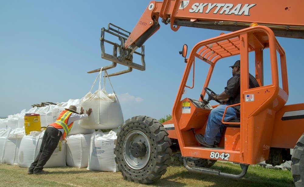 Big sandbags