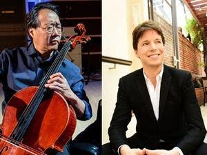 Yo-Yo Ma and Joshua Bell