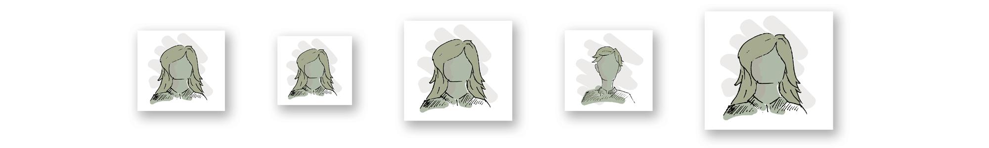 Illustration of unnamed children