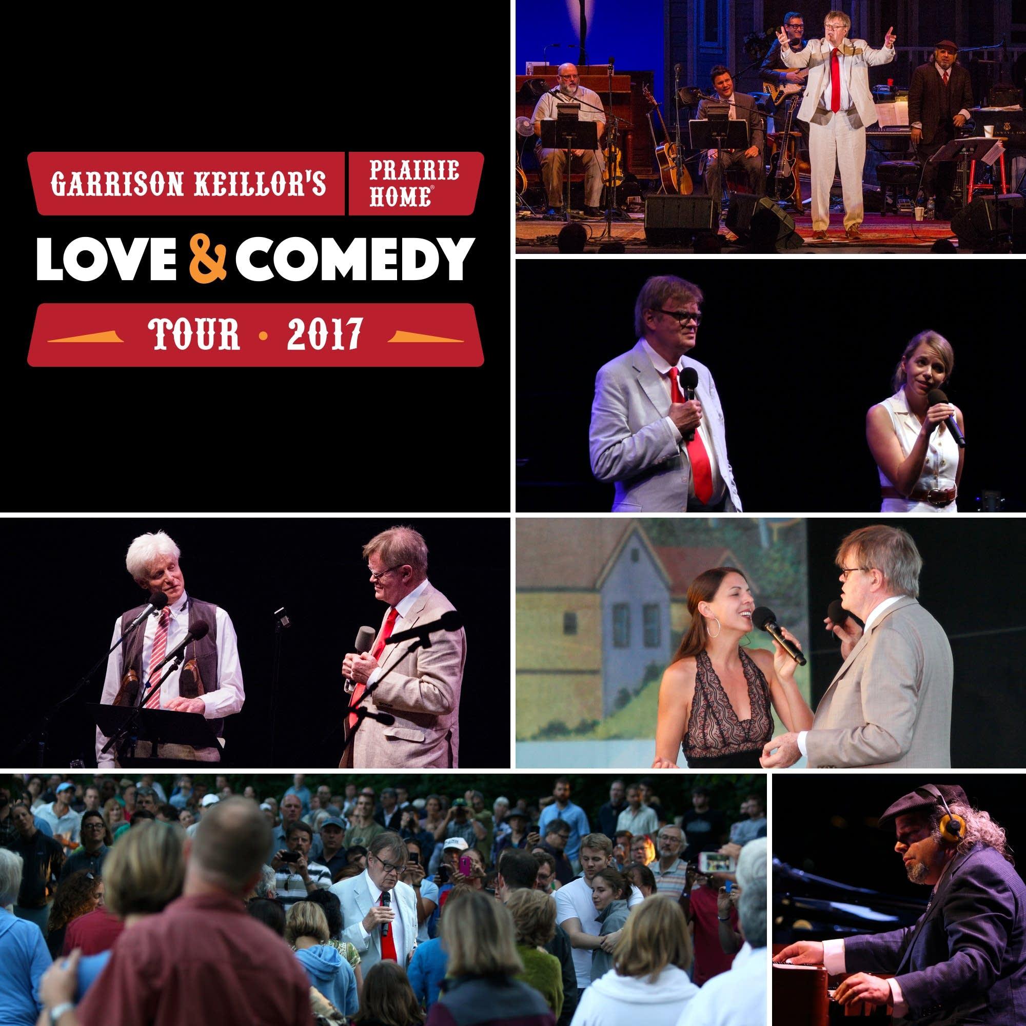 Garrison Keillor's Prairie Home Love and Comedy Tour