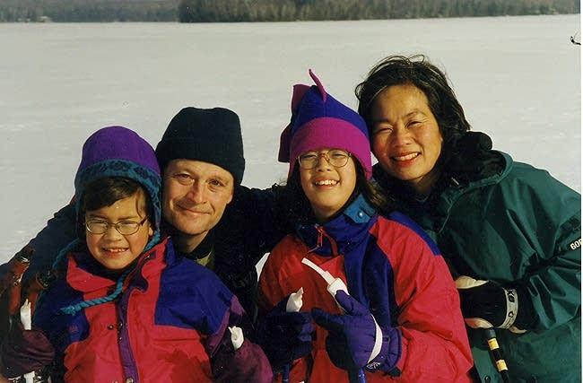 Ski trip in 1998