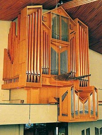 1986 Förster & Nicolaus organ at Saint Nicholas Church, Frankfurt, Germany