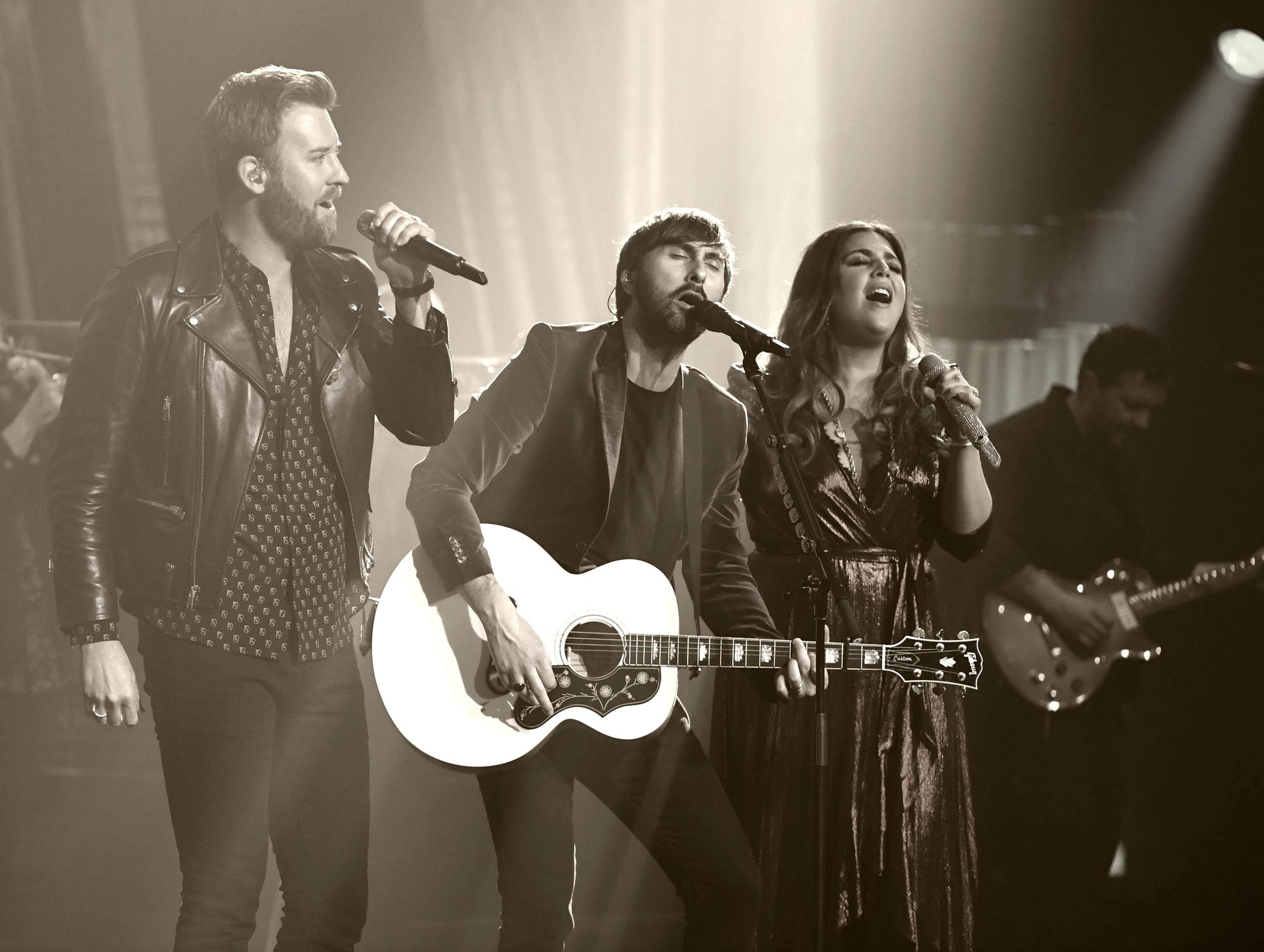 Lady Antebellum performs at The Pearl concert theater in Vegas