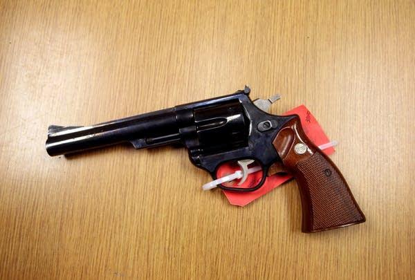 .44-caliber Magnum Interarms revolver
