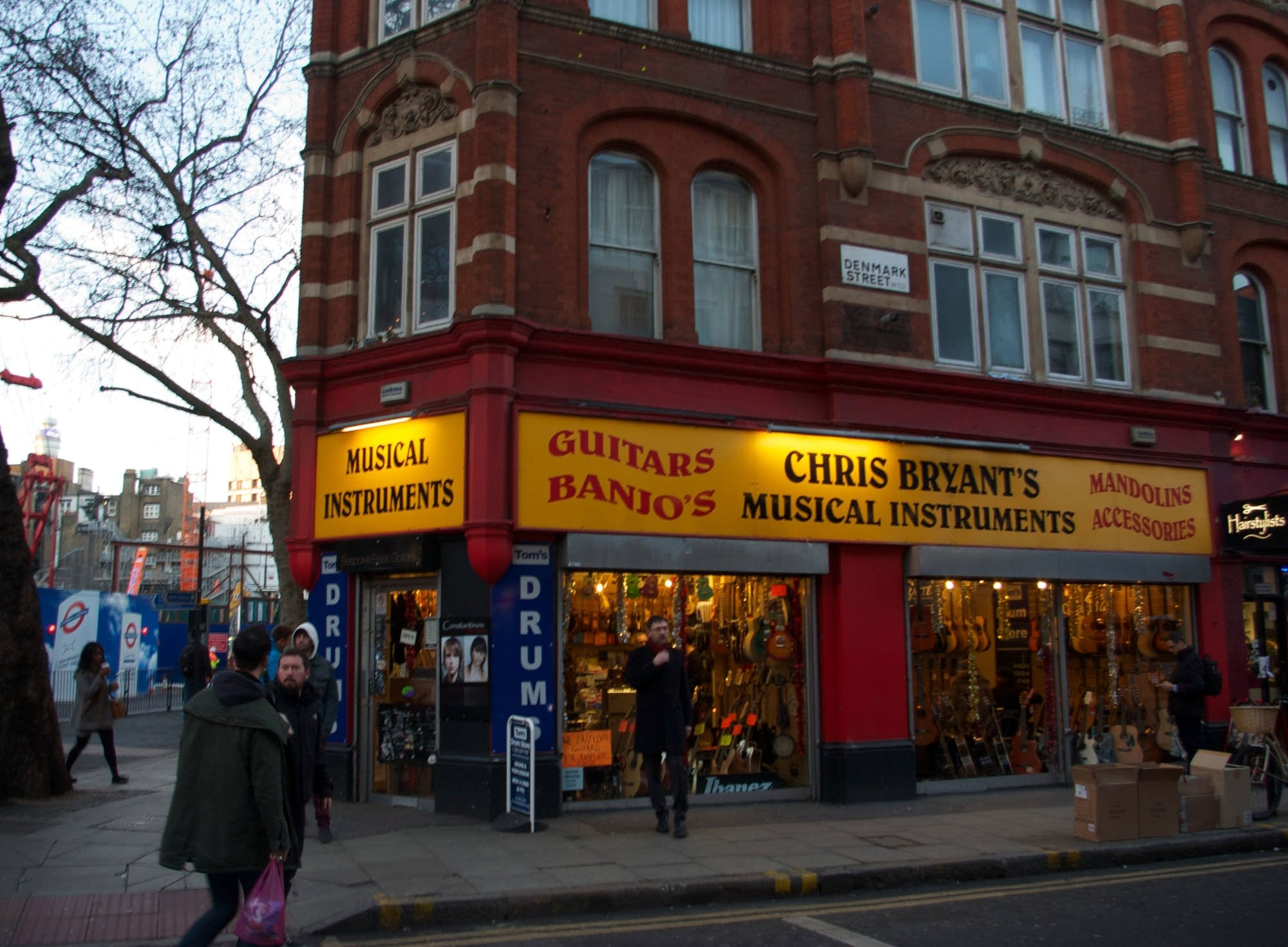 Denmark Street, London