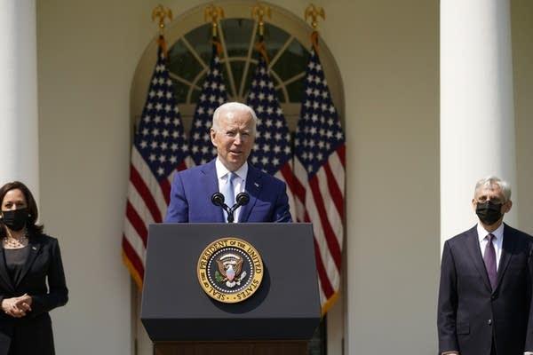 Joe Biden,Kamala Harris,Merrick Garland