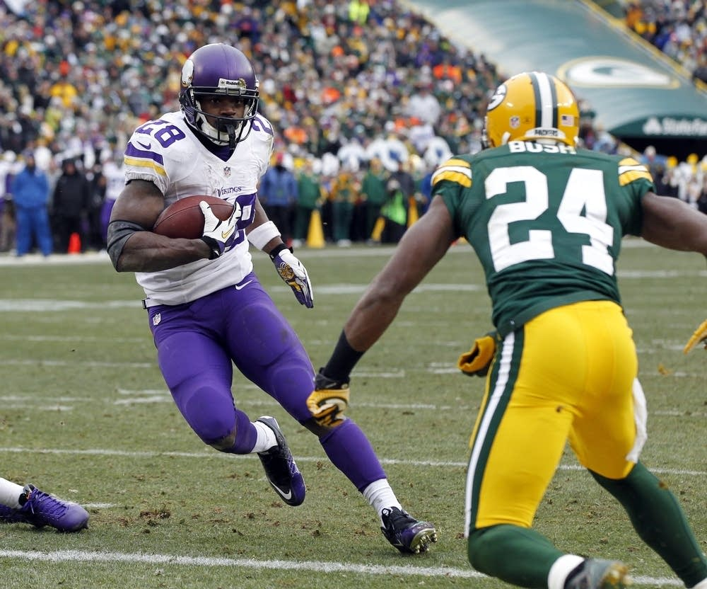 Vikings tie Packers in Green Bay