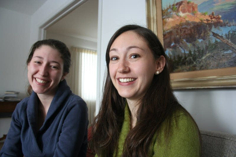 Libby Holden and her sister Tricia