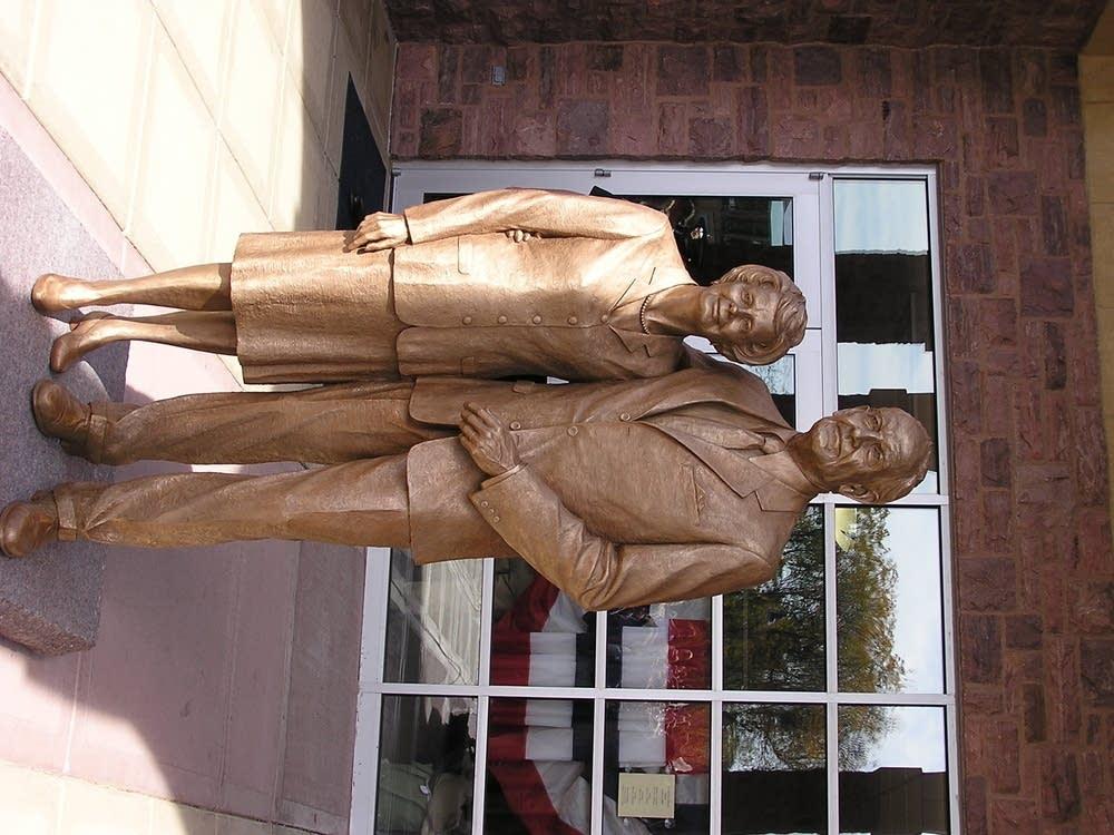 McGovern statue
