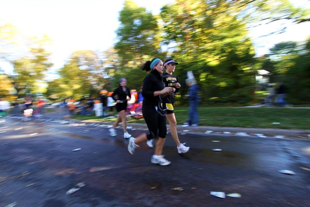 7-mile mark