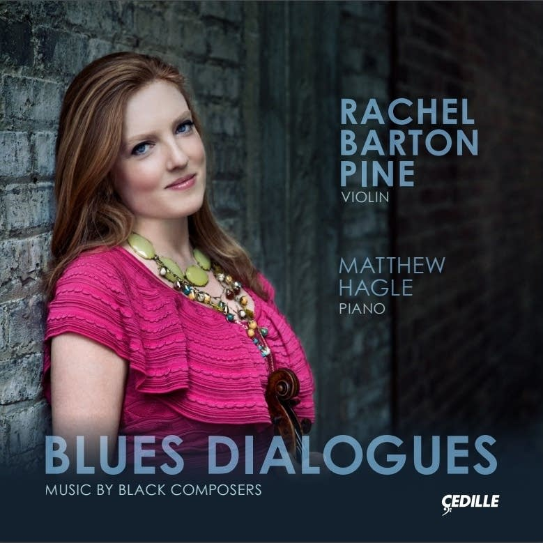 Rachel Barton Pine's latest release, 'Blues Dialogues.'