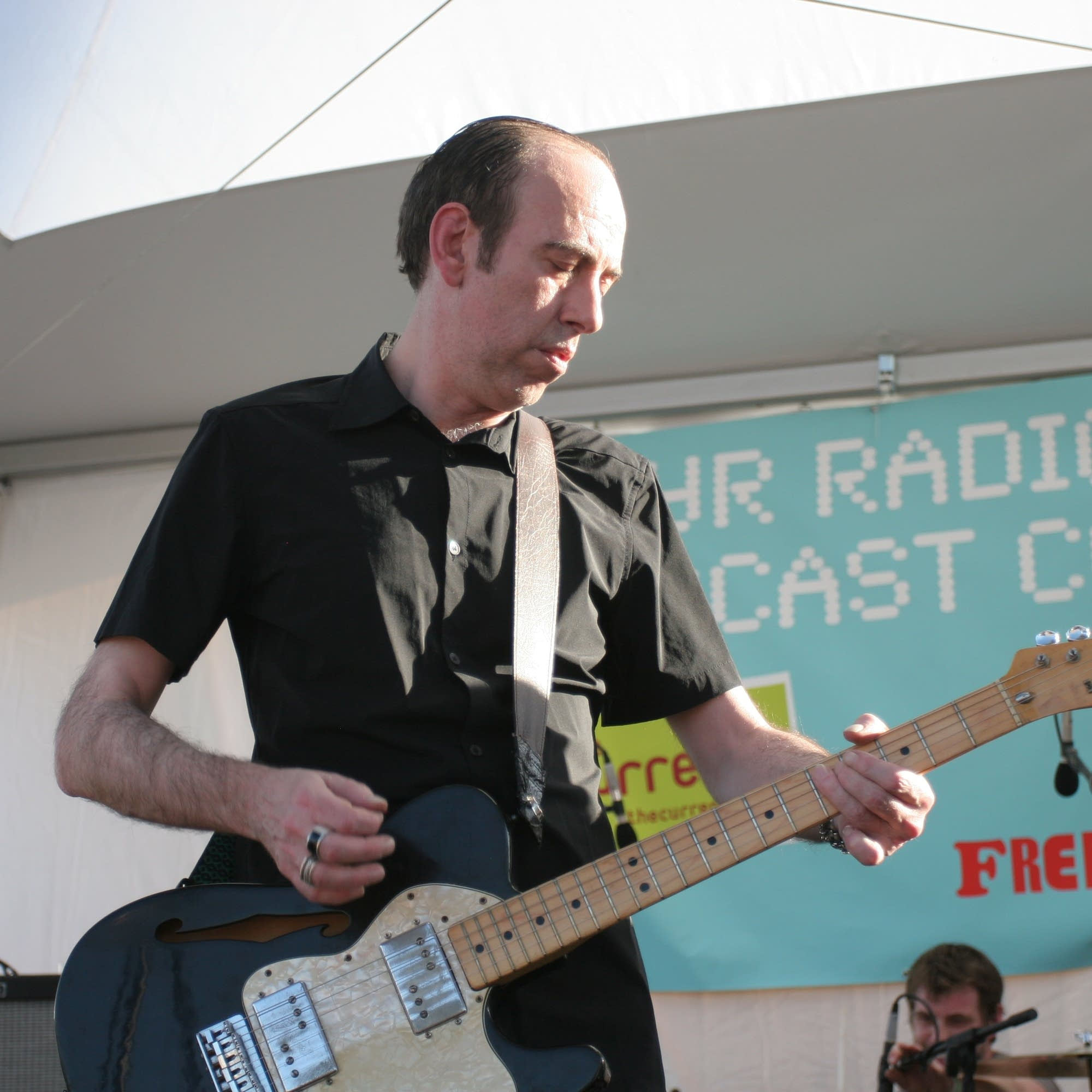 Mick Jones plays The Current's stage at SXSW