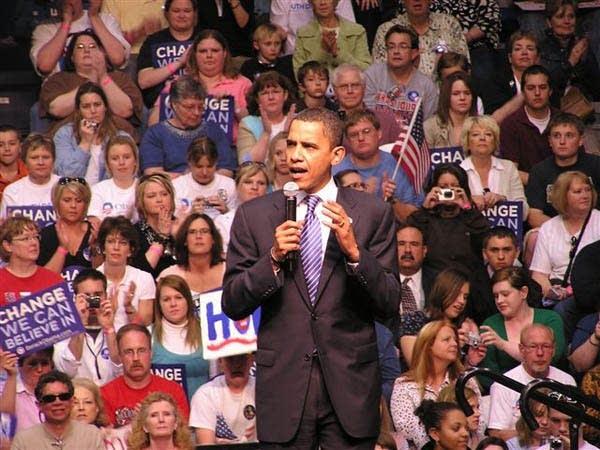 Barack Obama in S.D.