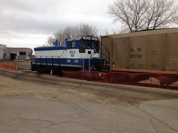 Last coal load to Black Dog plant