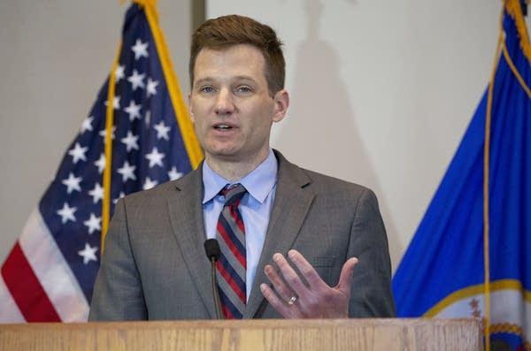 Minnesota DEED Commissioner Steve Grove