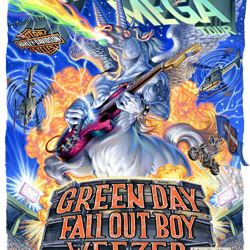 Green Day, Weezer, and Fall Out Boy | Events Calendar | The Current