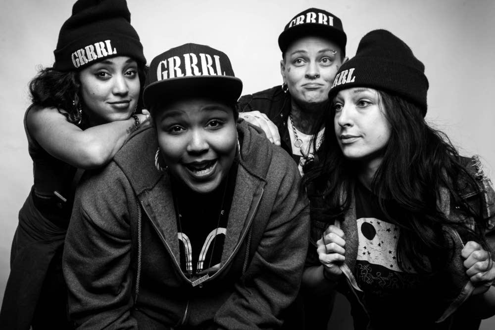 GRRRL PRTY will perform at the MN Music Summit.