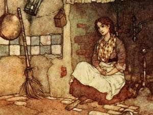 Cinderella (illustrated by Edmund Dulac)