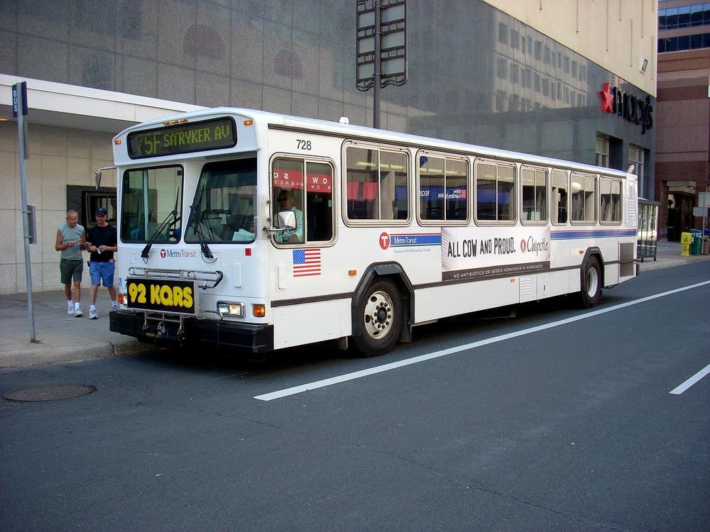 Gillig Phantom buses are being phased out