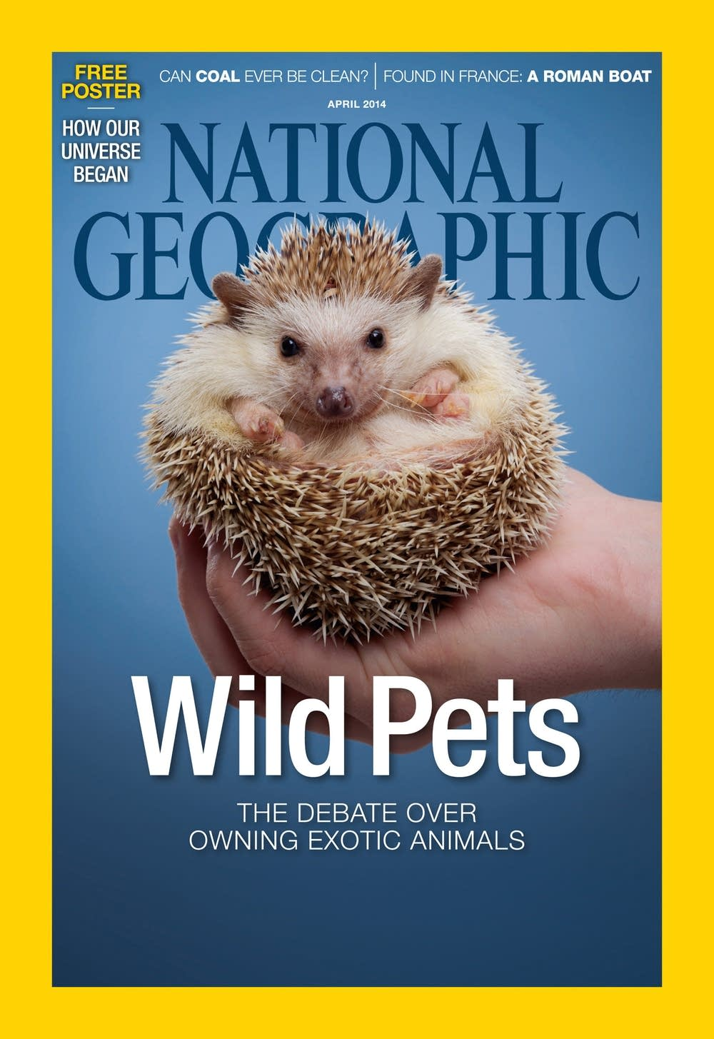 National Geographic April cover