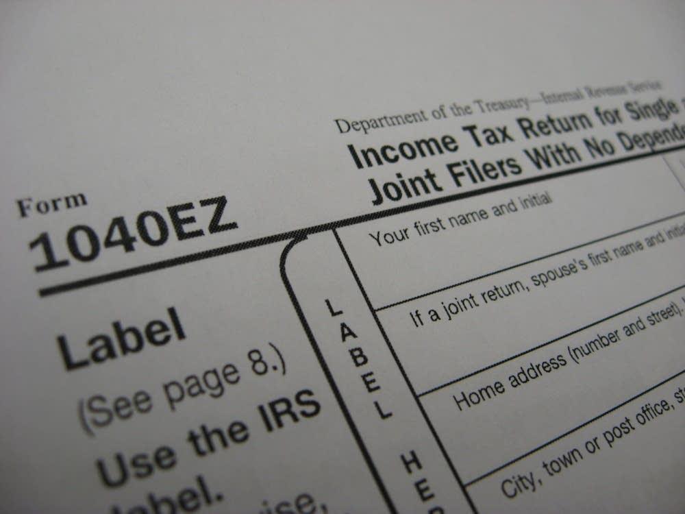 1040ez tax form