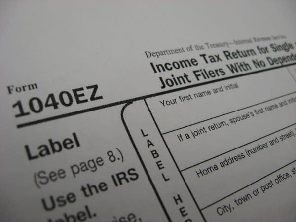 1040ez tax form