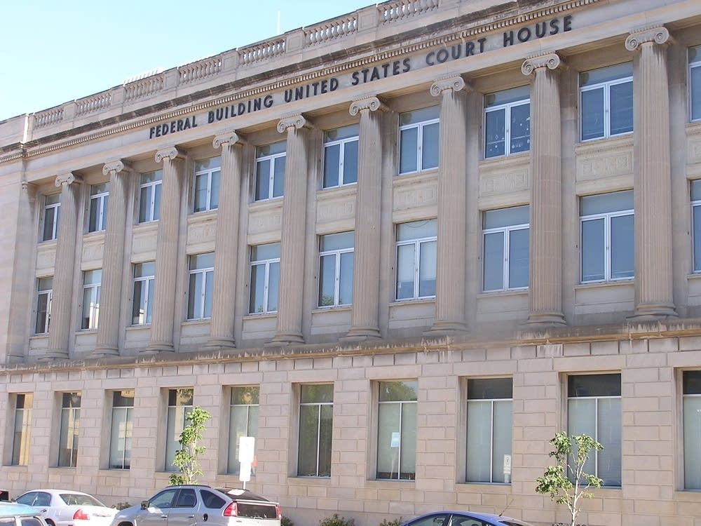 The federal courthouse in Fargo