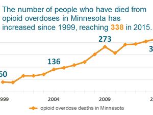 338 opioid overdose deaths in 2015