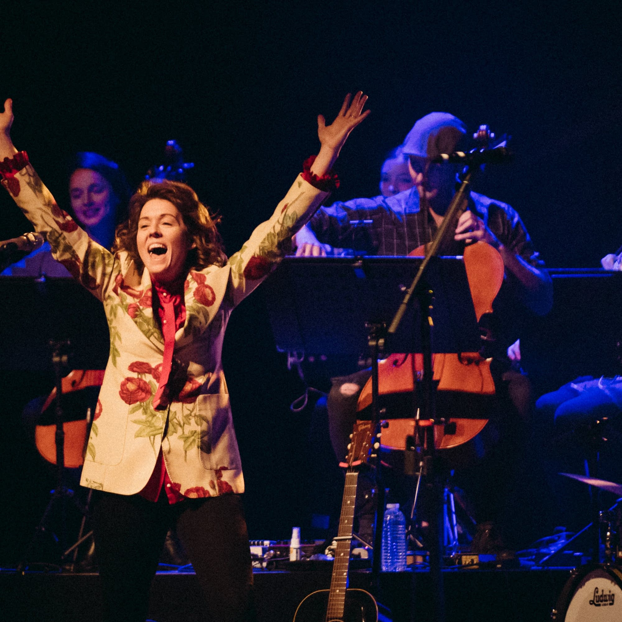 Brandi Carlile in concert at the State Theatre in Minneapolis.