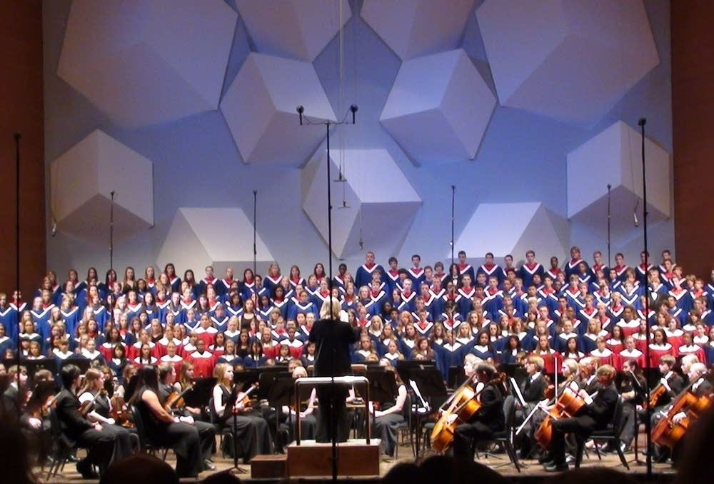 Robbinsdale Choirs and Orchestra Orch Hall