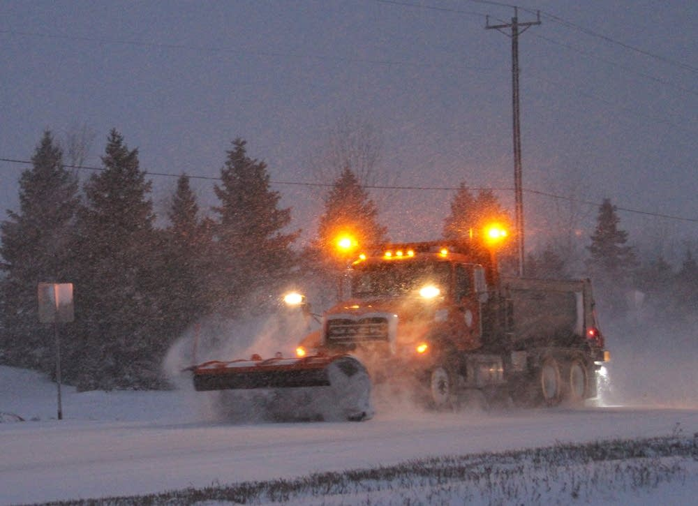 Stearns County plow