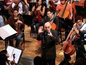 Venezuelan conductor and composer Jose Abreu