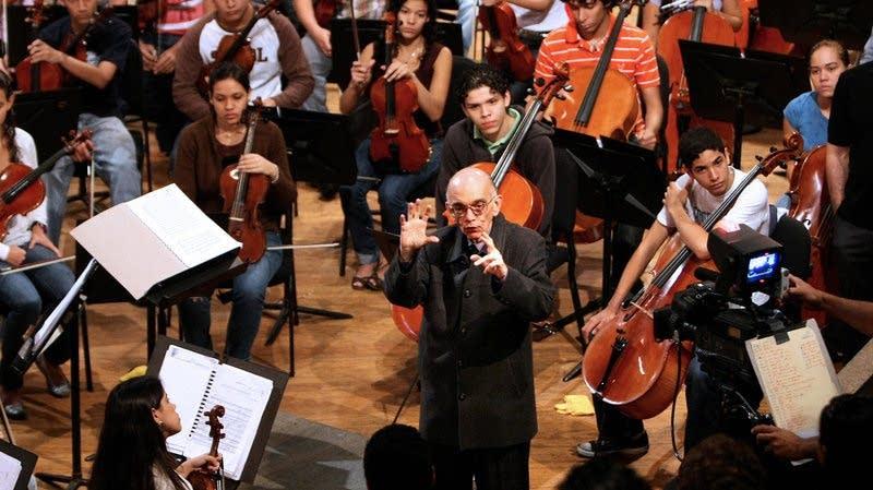Venezuelan conductor and composer Jose Abreu