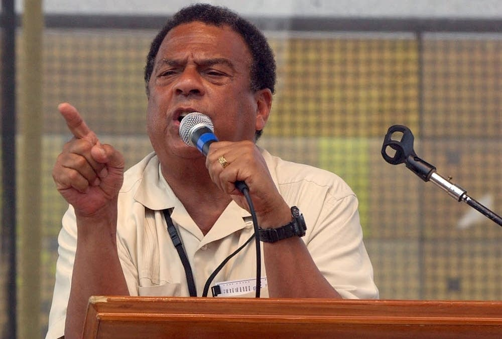 Former UN ambasador and Atlanta mayor Andrew Young