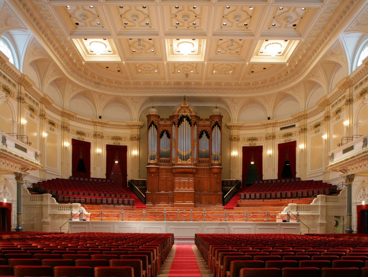 Great Hall at the Concertgebouw