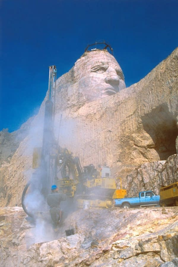 Blast at Crazy Horse memorial