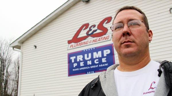 Joe Lendacky, 47, is a Trump supporter.