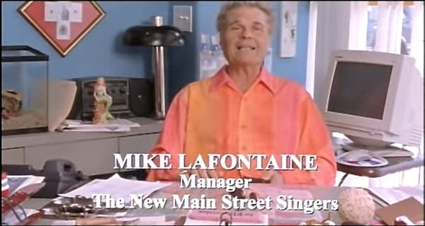 Fred Willard as Mike LaFontaine in A Mighty Wind