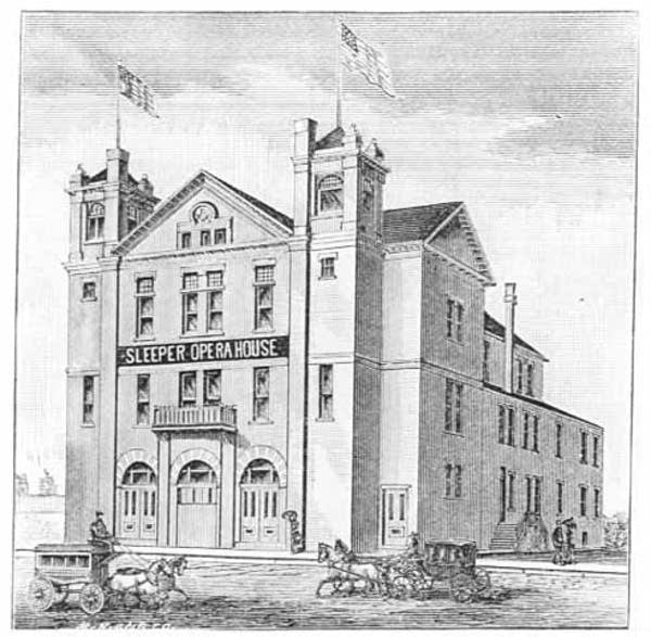 Brainerd Opera House 1888