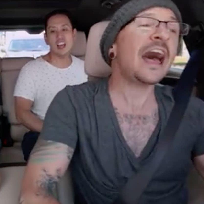 Linkin Park sing 'Carpool Karaoke' with Ken Jeong.