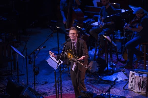 Our host, Chris Thile