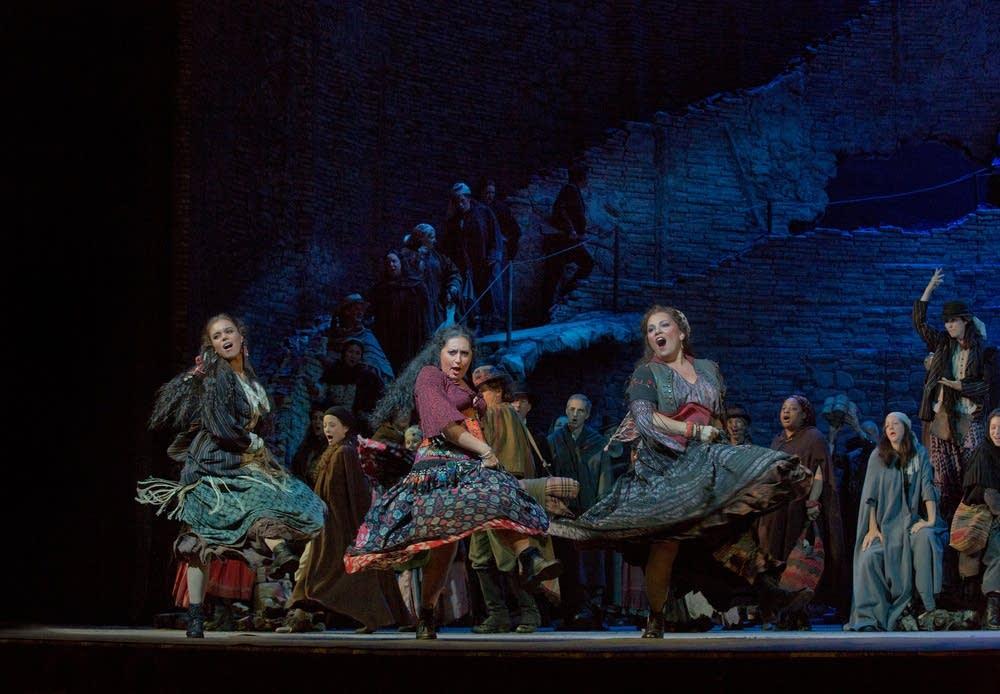 A scene from Carmen