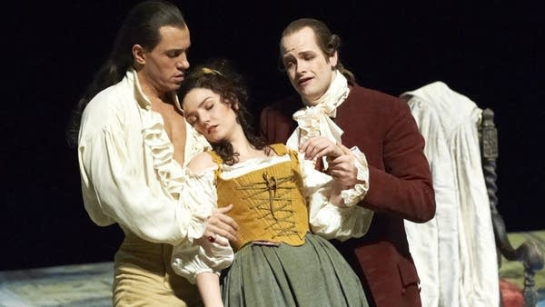 A scene from a Vienna Opera production
