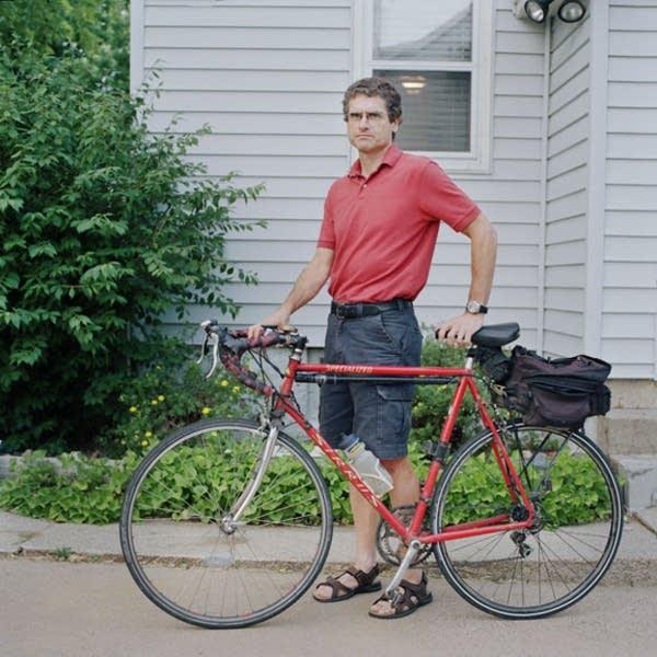Cyclist Dan Scheuller