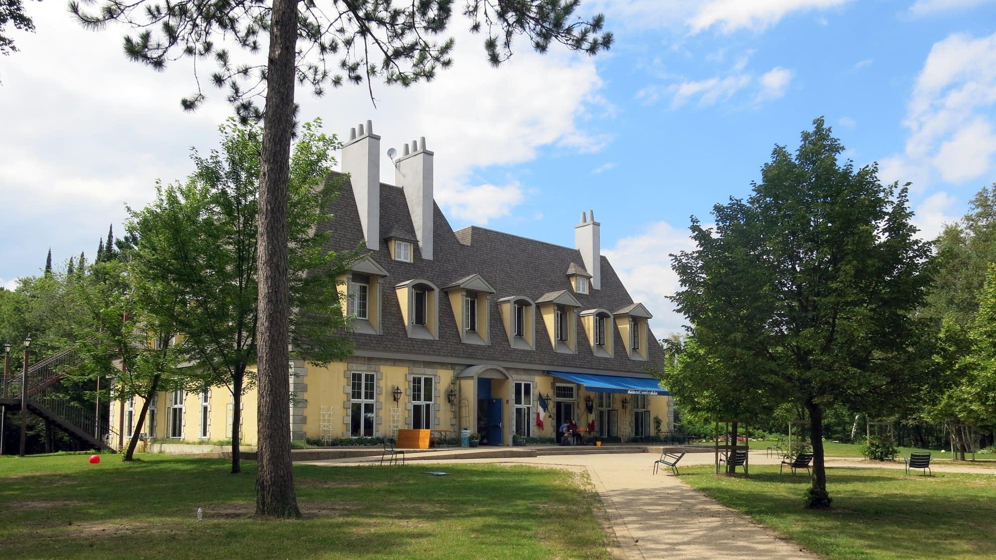 The French village, Lac du Bois.