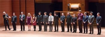 Juilliard Students after Pipedreams Live!