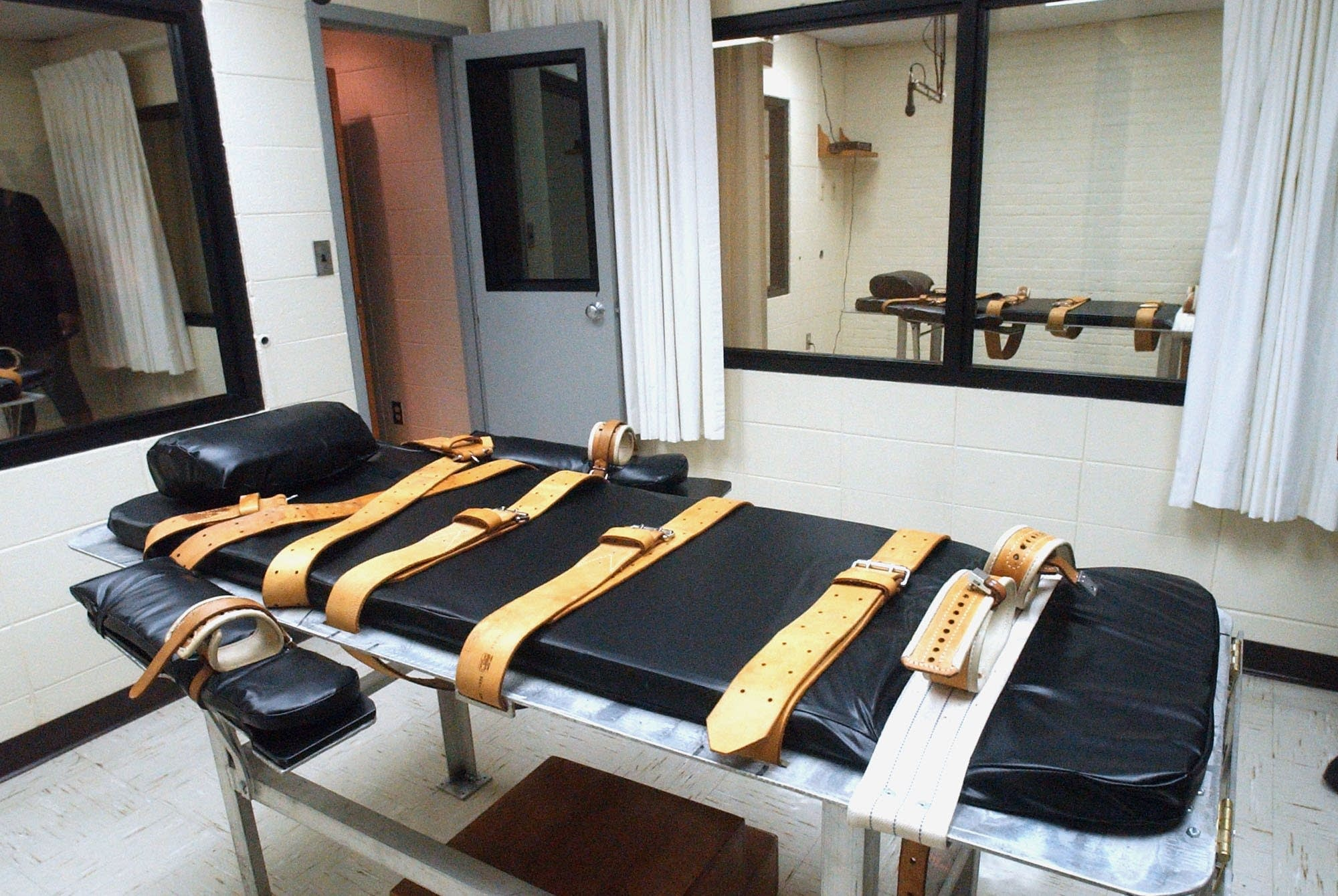 lethal injection room, Mississippi State Penitentiary in Parchman.